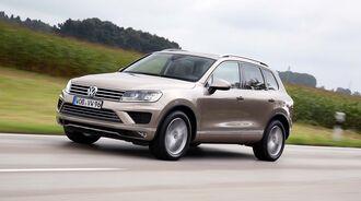 VW Touareg V6 TDI Facelift 2014 Fahrbericht