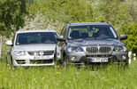 VW Touareg V8, BMW X5 4.8i