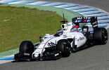 Valtteri Bottas - Williams - Formel 1-Test Jerez - 1. Februar 2015