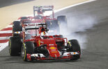 Vettel Räikkönen - Ferrari - Formel 1 - GP Bahrain 2015