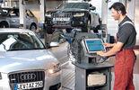 Werkstatt, Test, Audi