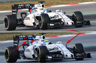 Williams - Formel 1-Technik - Barcelona-Test 2 - F1 2015