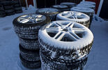 Winterreifen, BMW 330d, Testfahrt