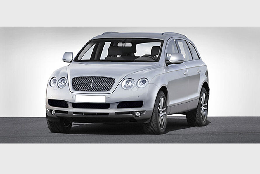 Bentley Cross Continental становится на конвейер