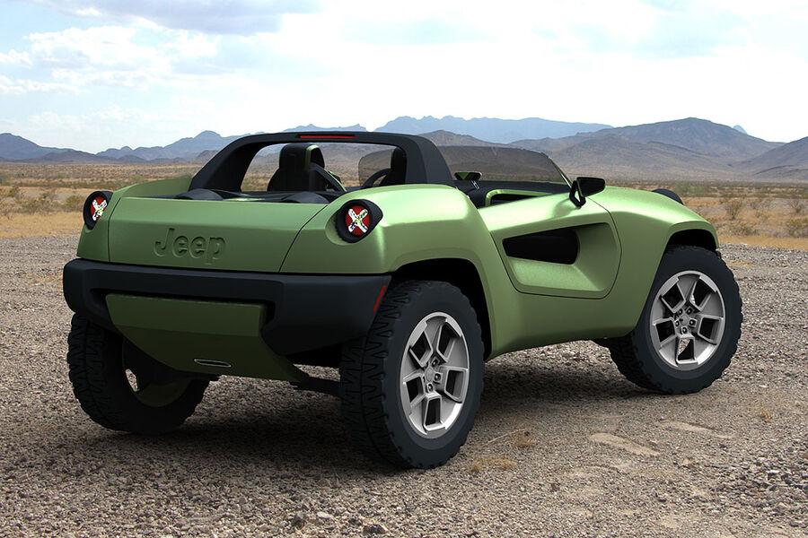 jeep renegade concept mit dem strom auto motor und sport. Black Bedroom Furniture Sets. Home Design Ideas