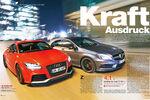 Vergleich Audi TT RS Plus und Mercedes A 45 AMG