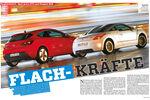 Vergleichstest Opel Astra GTC und Peugeot RCZ
