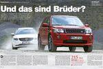 Vergleichstest Land Rover Freelander, Volvo XC 60