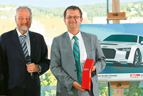 sport-auto Award 2012, DSK-Präsident Karl-Friedrich Ziegahn, Stephan Reil