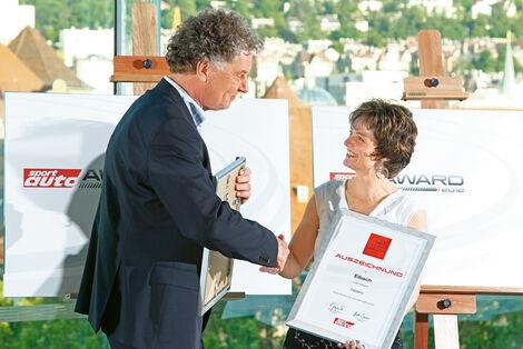 sport-auto Award 2012, Swantje Eibach, Thomas Wörmann