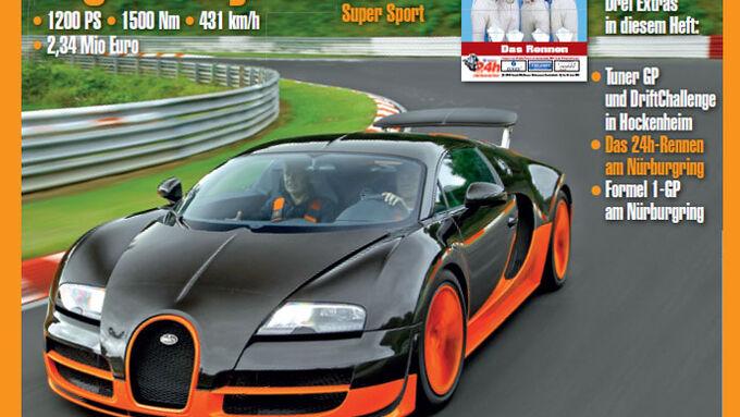 neues heft sport auto 08 2011 bugatti veyron 911 top. Black Bedroom Furniture Sets. Home Design Ideas